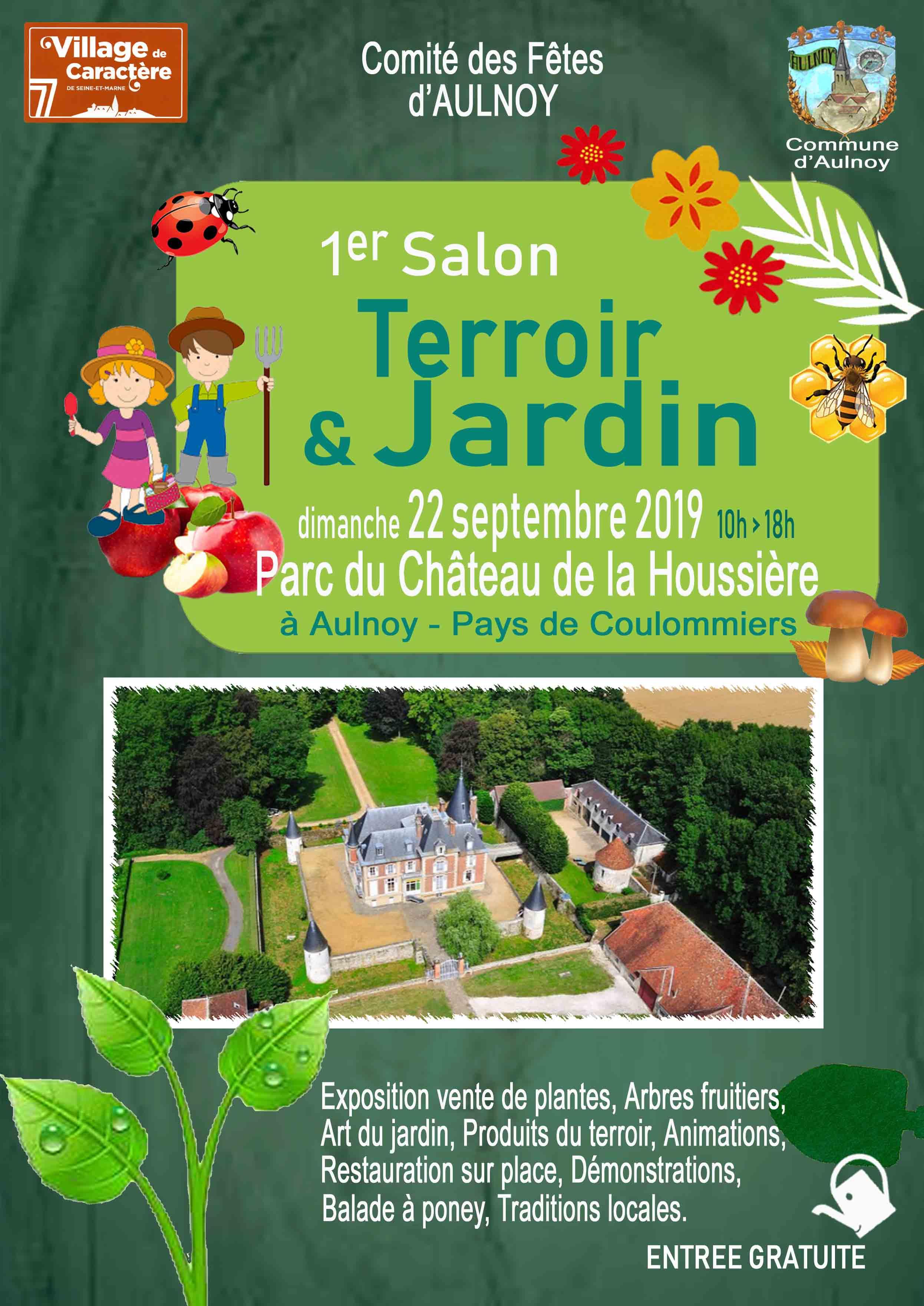 Affiche Salon Terroir et Jardin Aulnoy 2019 format num (2)